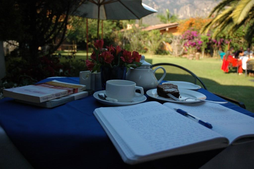 writing desk, jan 13, Tepotzlan