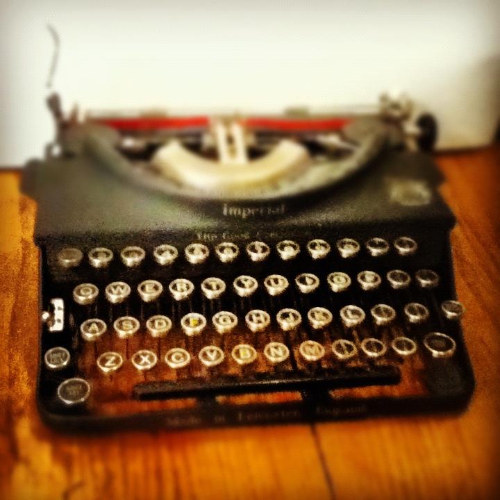 avery typewriter
